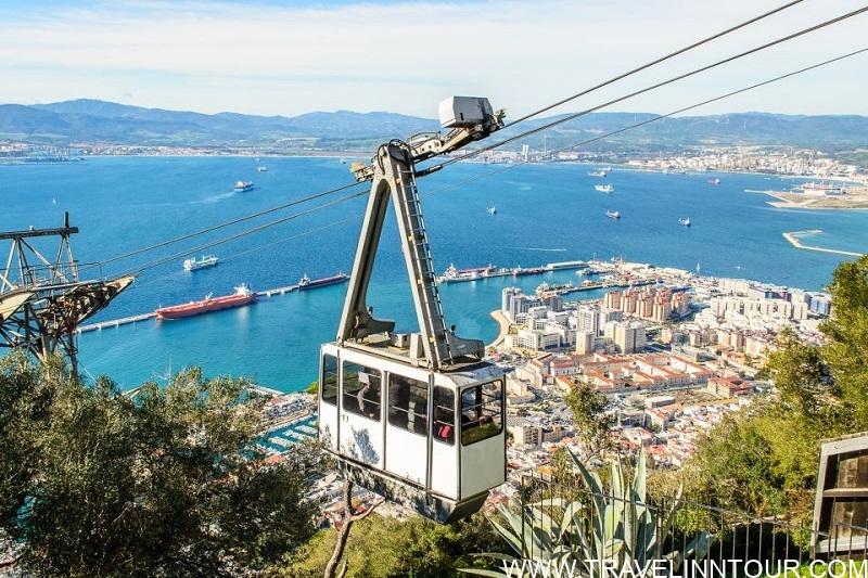 Gibraltar Cable Car Ride 2