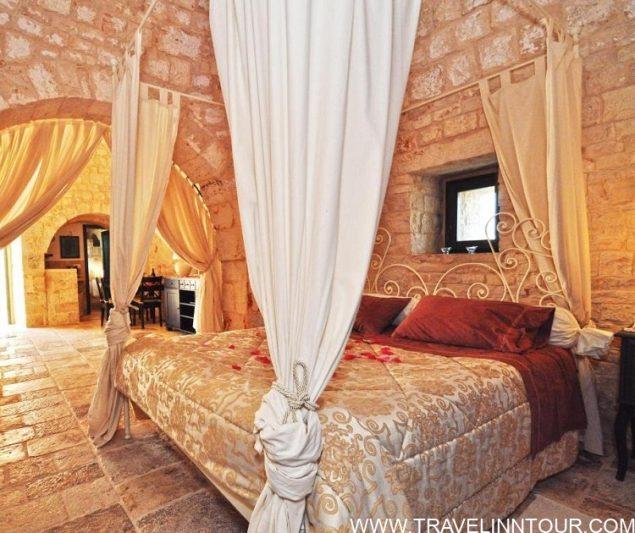 Masseria Rosa Trulli Bedroom